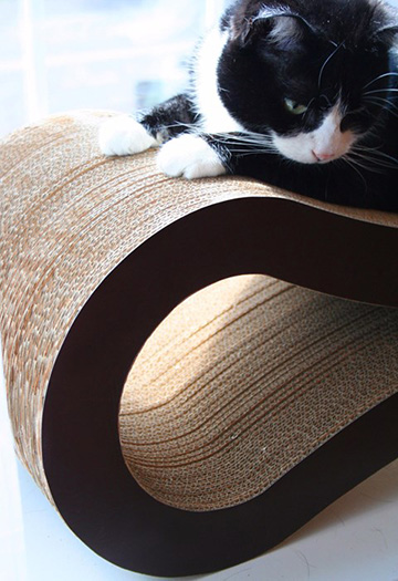 best recycled cat scratcher