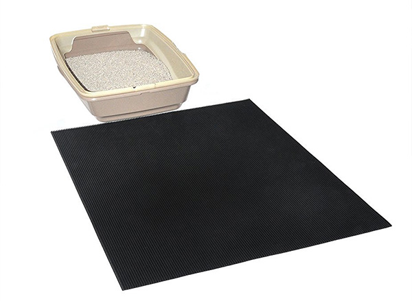 rubber tire recycled cat litter mat